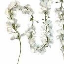 Blüten-Girlande weiss 145 cm