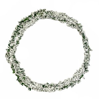Dekorative Beerengirlande weiß 270 cm