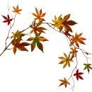 Herbstlicher Deko Laubzweig ca.114 cm