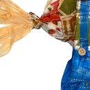 Lustiger Vogelscheuche-Mann ca. 110 cm